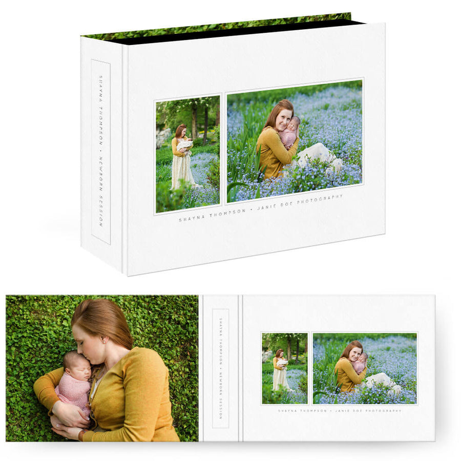 Essentials 4 | Horizontal Image Box - 3 Dollar Photoshop Templates for Photographers