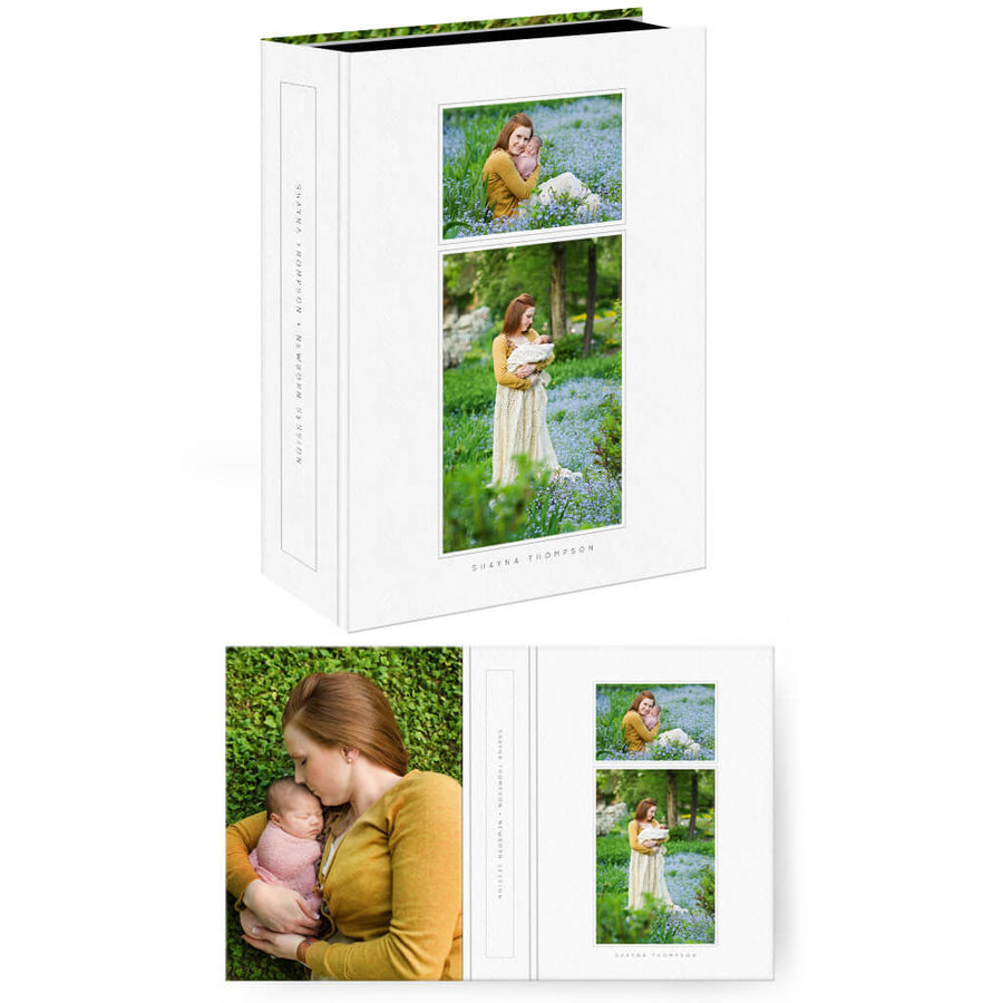 Essentials 4 | Vertical Image Box - 3 Dollar Photoshop Templates for Photographers