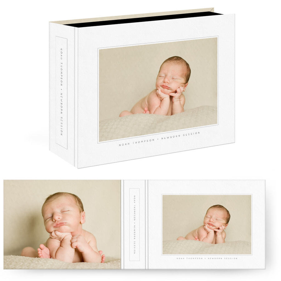Essentials 5 | Horizontal Image Box - 3 Dollar Photoshop Templates for Photographers