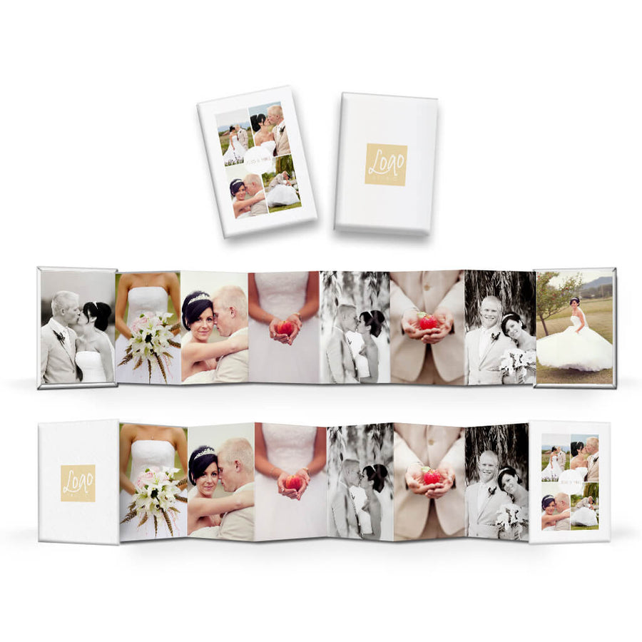 Essentials #3 | Wallet Accordion Mini Book - 3 Dollar Photoshop Templates for Photographers