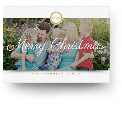 Family | Christmas Card - 3 Dollar Photoshop Templates for Photographers