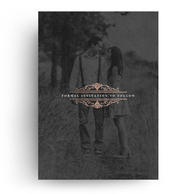 Fancy | Save-the-Date Card - 3 Dollar Photoshop Templates for Photographers
