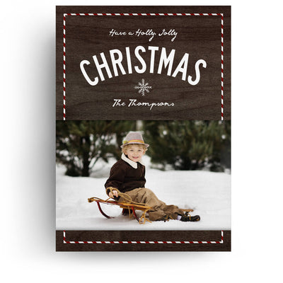 Festive | Christmas Card - 3 Dollar Photoshop Templates for Photographers