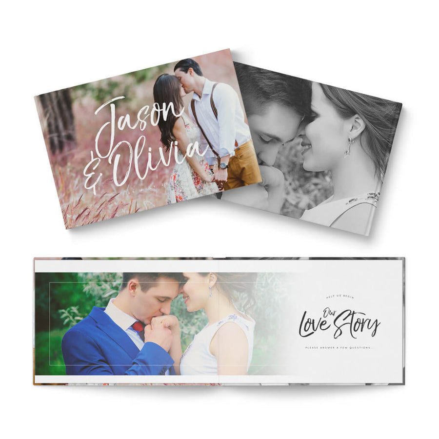 12x8 Forever Reception - 3 Dollar Photoshop Templates for Photographers