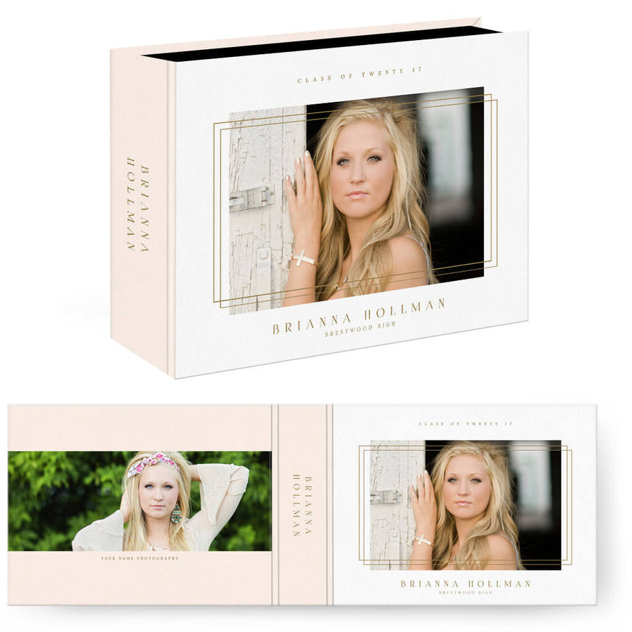 Framed | Horizontal Image Box - 3 Dollar Photoshop Templates for Photographers