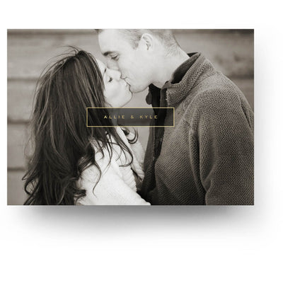 Framed | Save-the-Date Card - 3 Dollar Photoshop Templates for Photographers