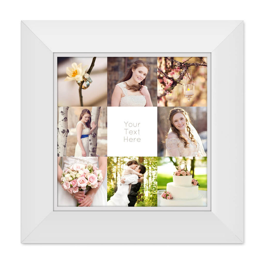 Framed | 20x20 Collage Template - 3 Dollar Photoshop Templates for Photographers