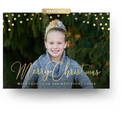 Fun Dots | Christmas Card - 3 Dollar Photoshop Templates for Photographers