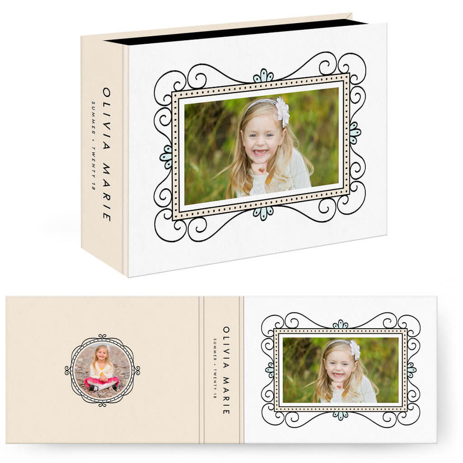 Fun Frames | Horizontal Image Box - 3 Dollar Photoshop Templates for Photographers