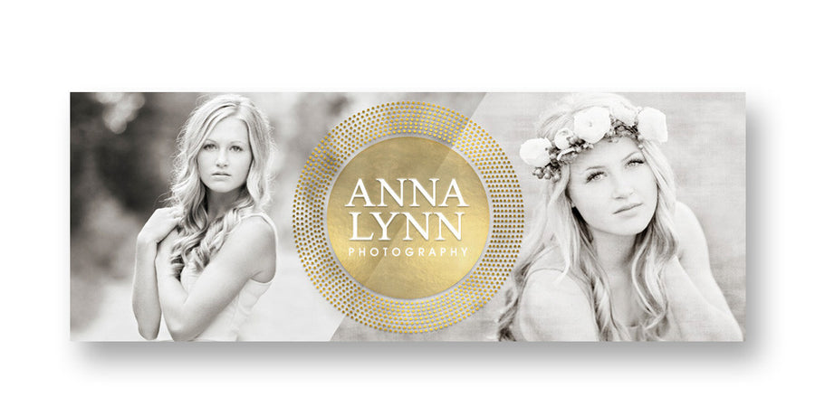 Glamorous | Facebook Cover - 3 Dollar Photoshop Templates for Photographers