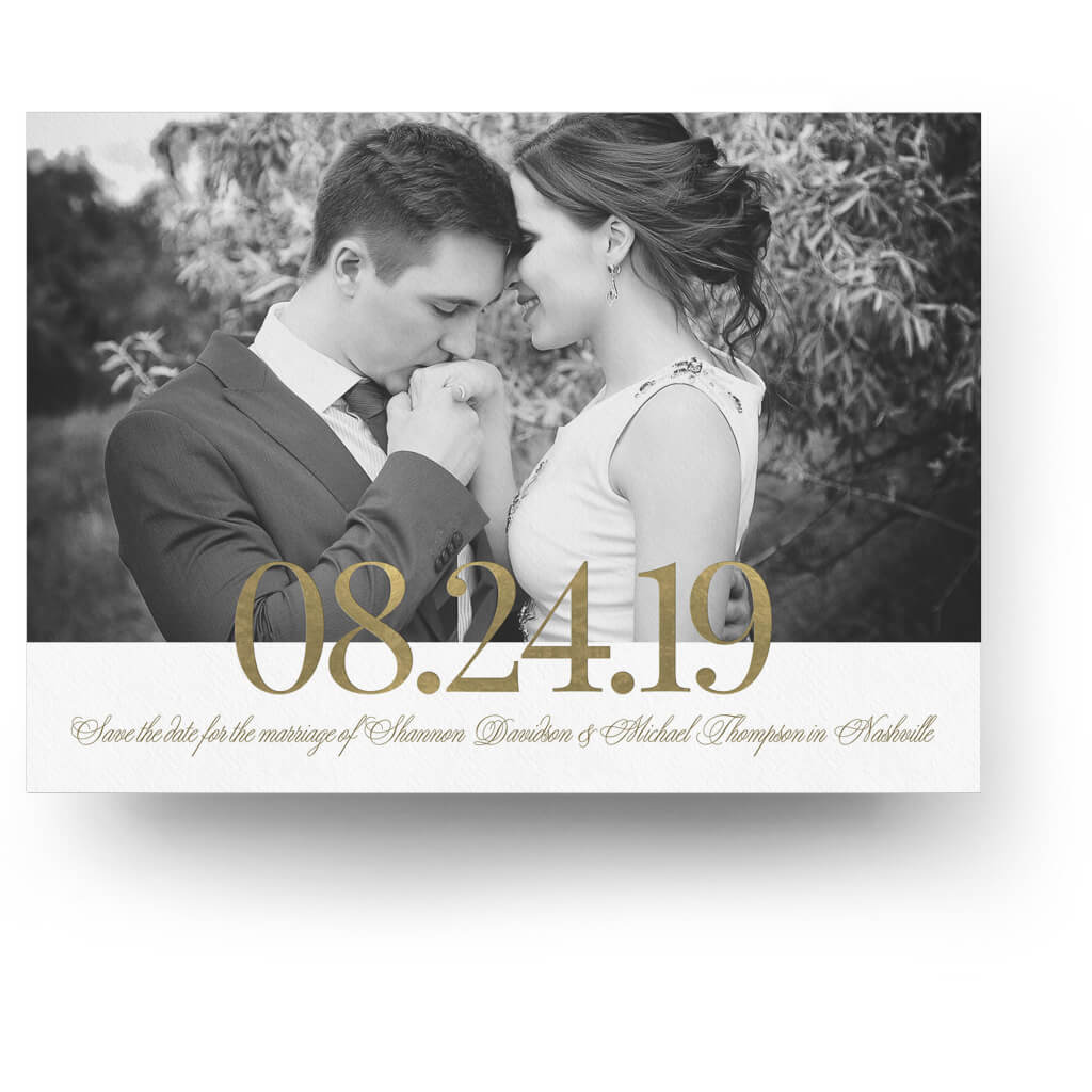 Gold date save the date card 3 dollar templates gold date save the date card 3 dollar photoshop templates for photographers maxwellsz