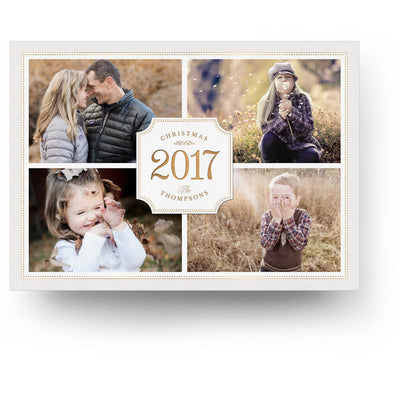 Great Year | Christmas Card - 3 Dollar Photoshop Templates for Photographers