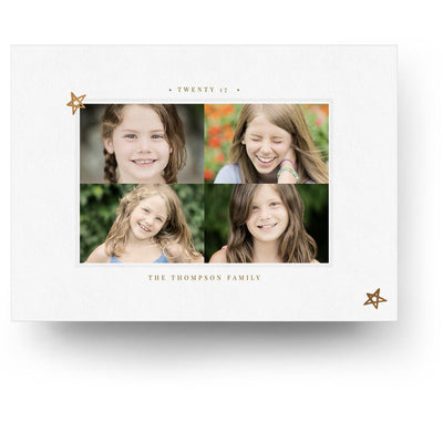 Happiest Holidays | Christmas Card - 3 Dollar Photoshop Templates for Photographers