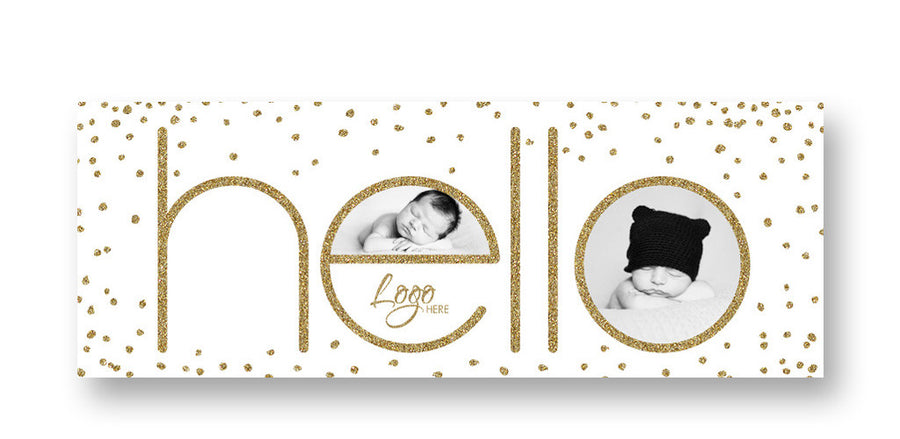 Hello | Facebook Cover - 3 Dollar Photoshop Templates for Photographers