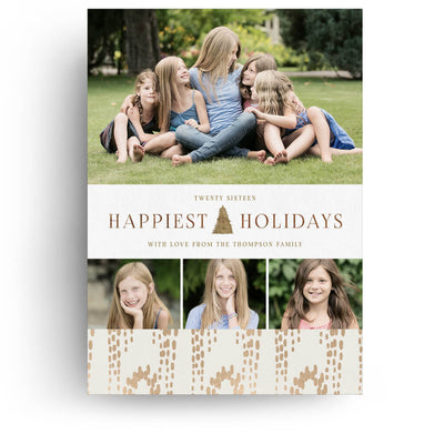 holiday collage christmas card 3 dollar templates