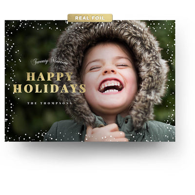 Holiday Spirit | Christmas Card - 3 Dollar Photoshop Templates for Photographers