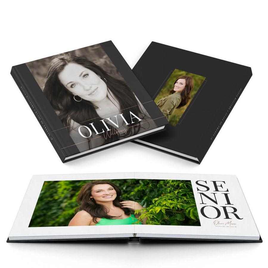 Insta Senior - 3 Dollar Photoshop Templates for Photographers