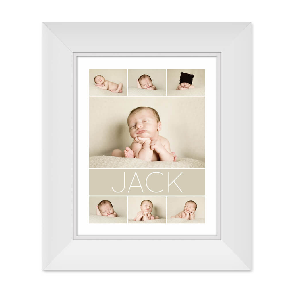 Jack | 11x14 Collage Template - 3 Dollar Templates