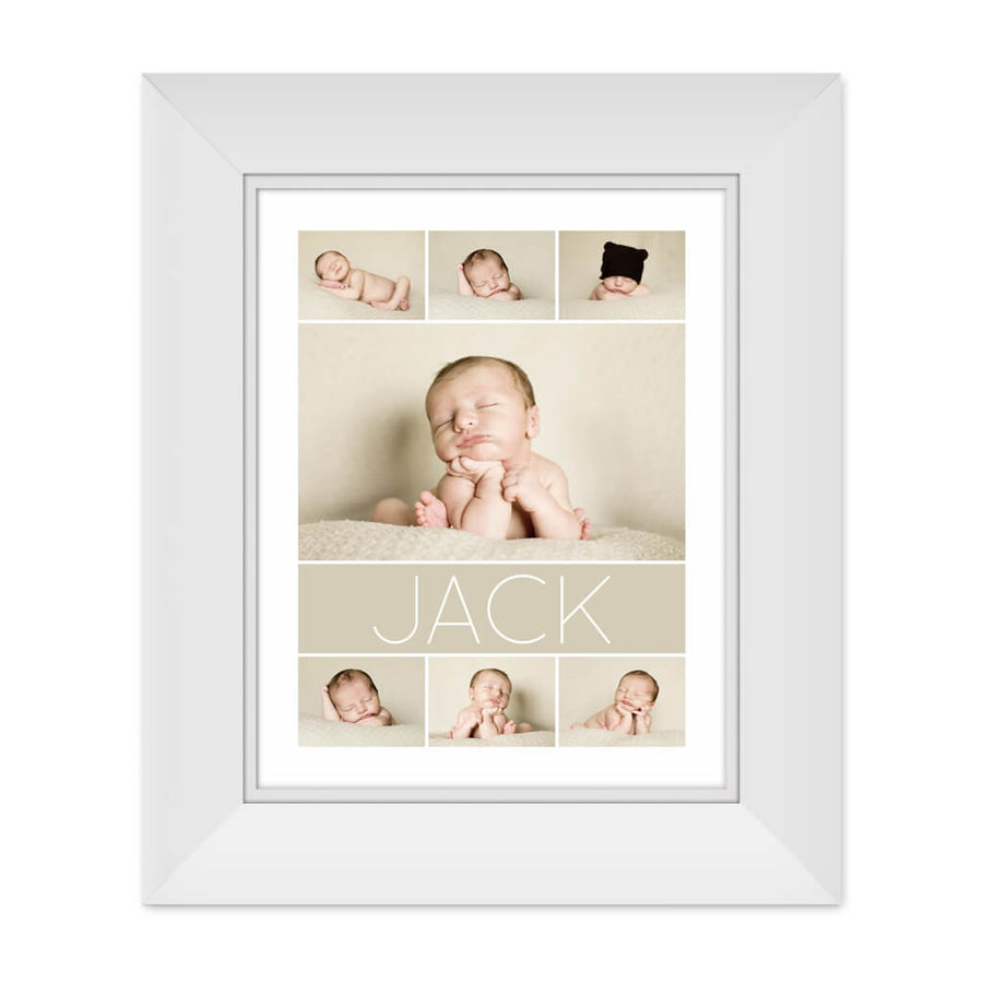 Jack | 11x14 Collage Template - 3 Dollar Photoshop Templates for Photographers