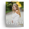 Jenny | Senior Graduation Card - 3 Dollar Photoshop Templates for Photographers