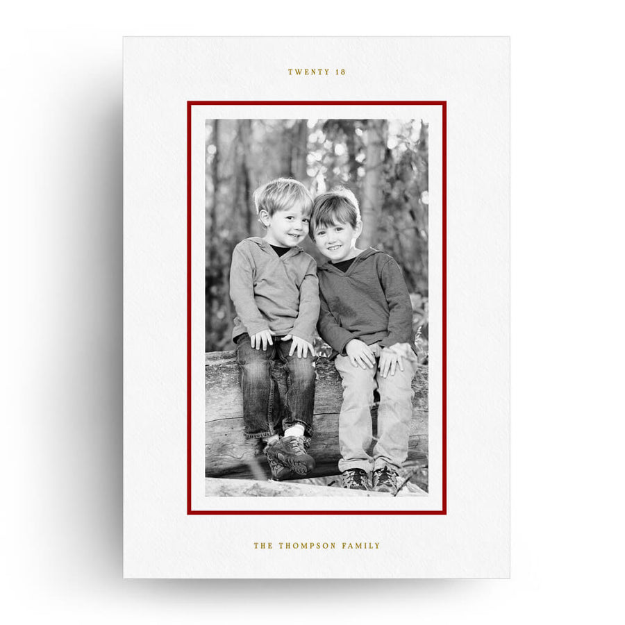 Joy Lines | Christmas Card