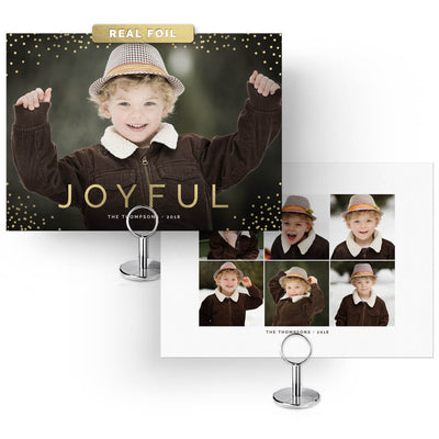 The 2018 Christmas Card Collection (30 Designs) - 3 Dollar Photoshop Templates for Photographers