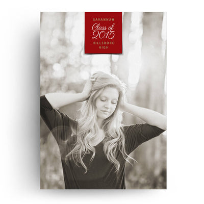 Labeled | Senior Graduation Card - 3 Dollar Photoshop Templates for Photographers