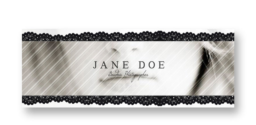 Lace | Facebook Cover - 3 Dollar Photoshop Templates for Photographers