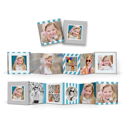 Little Sprouts | Mini Accordion Book - 3 Dollar Photoshop Templates for Photographers