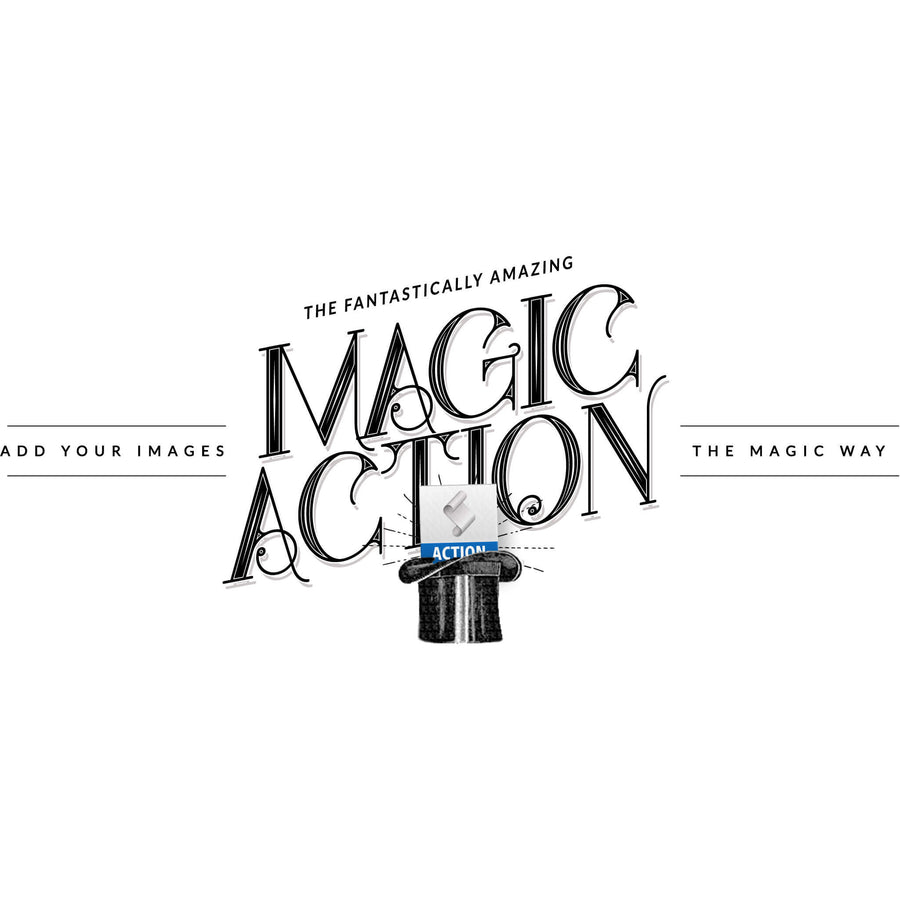 Magic Action - 3 Dollar Photoshop Templates for Photographers