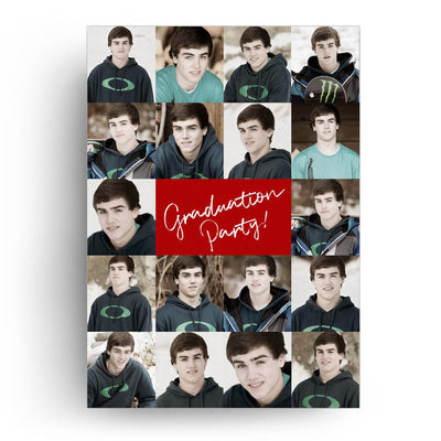 Magazine | Senior Graduation Card - 3 Dollar Photoshop Templates for Photographers