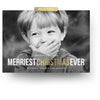 Merriest Christmas | Christmas Card - 3 Dollar Photoshop Templates for Photographers