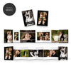 Modern | Mini Accordion Book - 3 Dollar Photoshop Templates for Photographers
