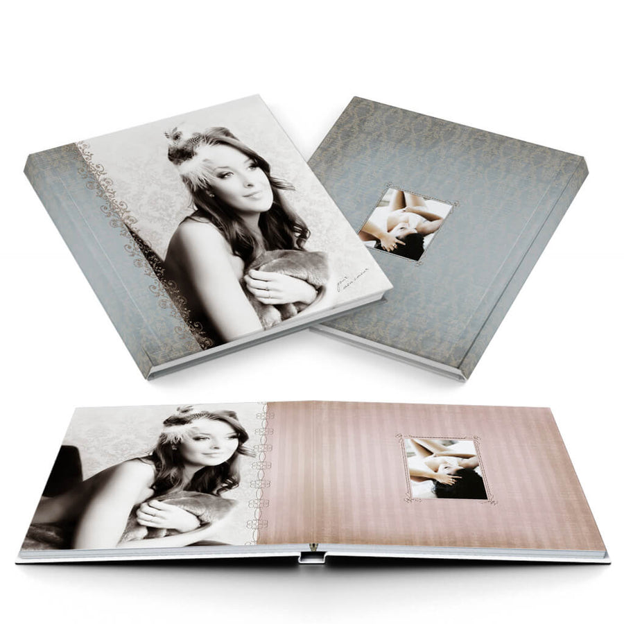 Mon Amour Album - 3 Dollar Photoshop Templates for Photographers