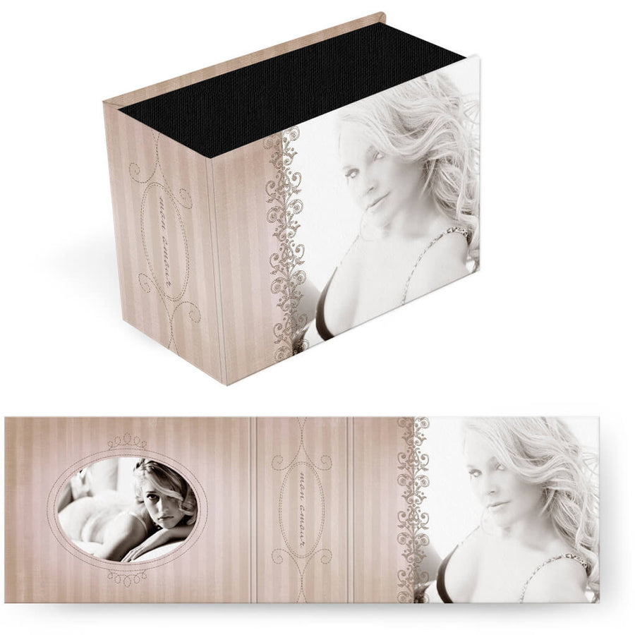 Mon Amour | Horizontal Image Box - 3 Dollar Photoshop Templates for Photographers