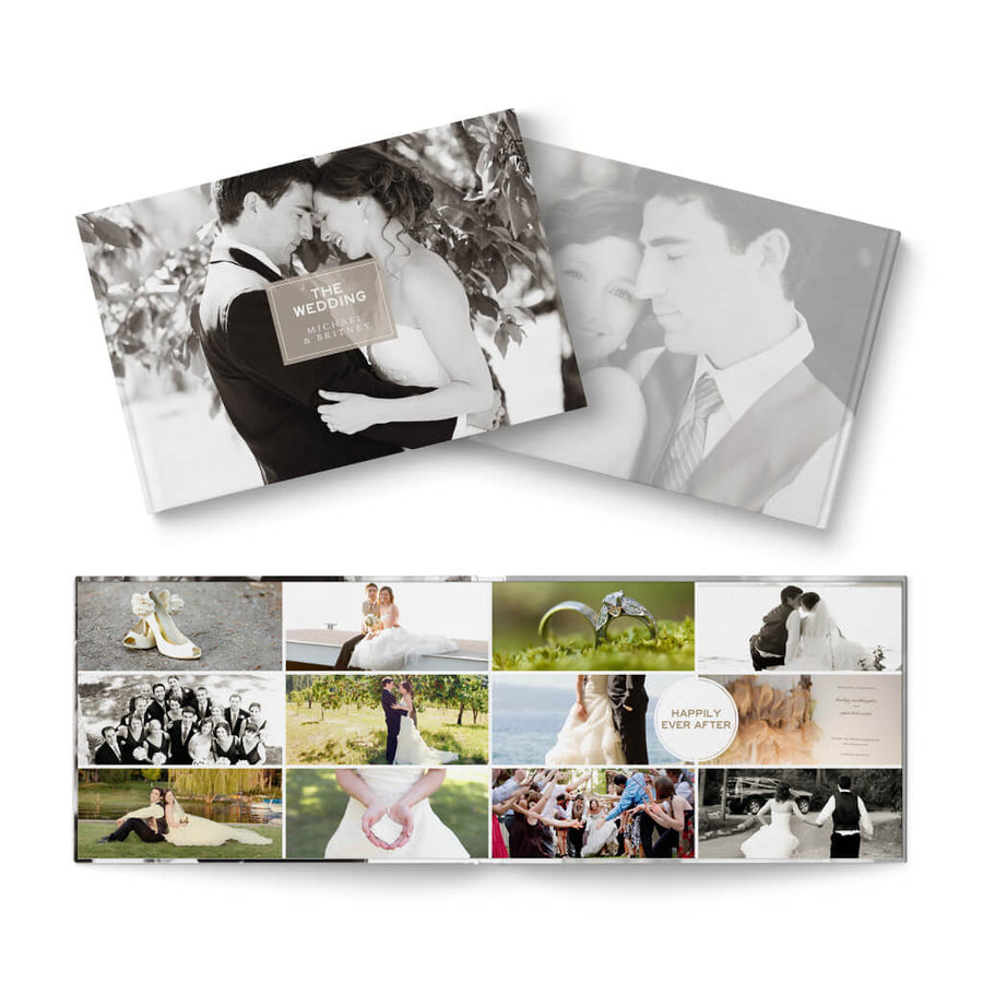 12x8 Multiplicity Wedding - 3 Dollar Photoshop Templates for Photographers