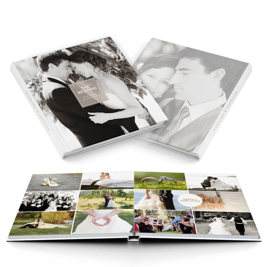 Multiplicity Wedding Album - 3 Dollar Photoshop Templates for Photographers