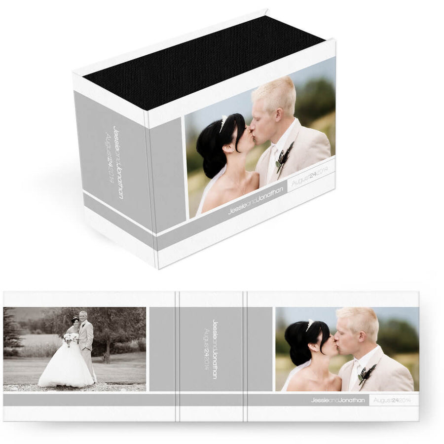 Oh So Simple | Horizontal Image Box - 3 Dollar Photoshop Templates for Photographers