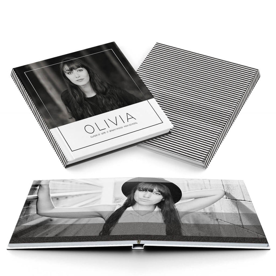 Olivia - 3 Dollar Photoshop Templates for Photographers