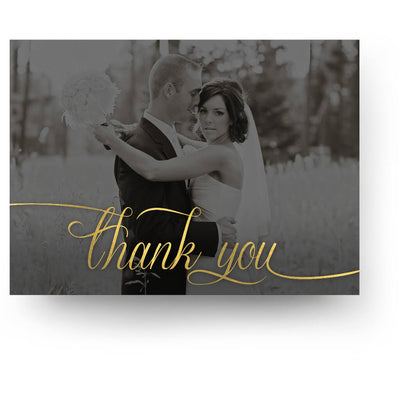 Once | 5x7 Folding Thank You Card - 3 Dollar Photoshop Templates for Photographers