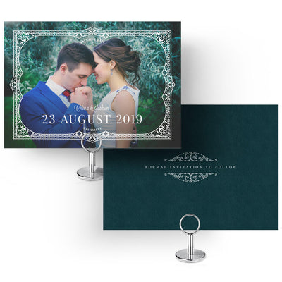 Ornate Frame | Save-the-Date Card - 3 Dollar Photoshop Templates for Photographers