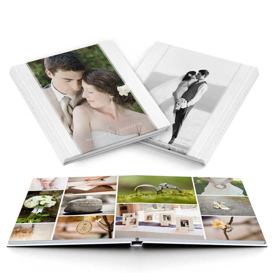 Petit Fleur II Wedding Album - 3 Dollar Photoshop Templates for Photographers