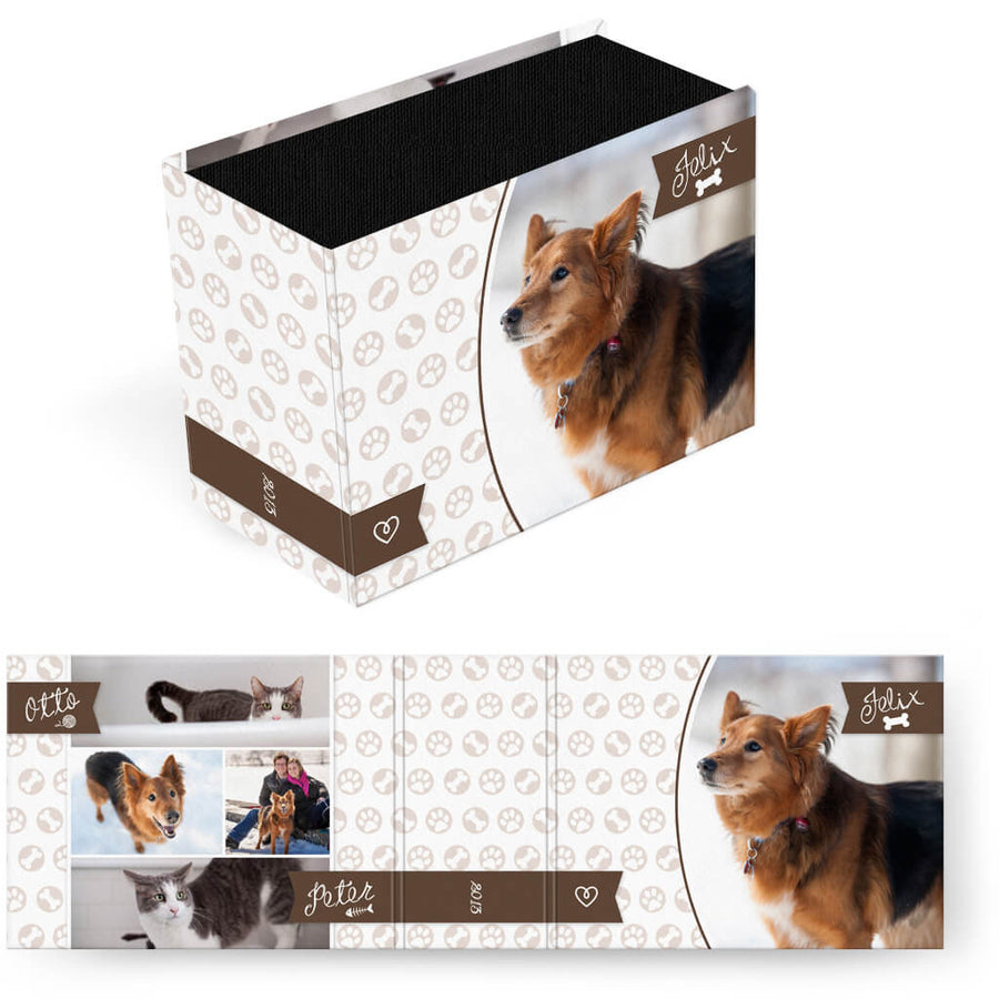 Paws & Claws | Horizontal Image Box - 3 Dollar Photoshop Templates for Photographers