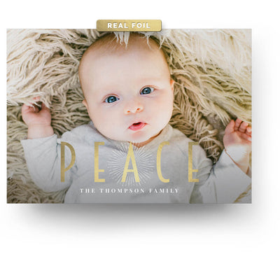 Peace | Christmas Card