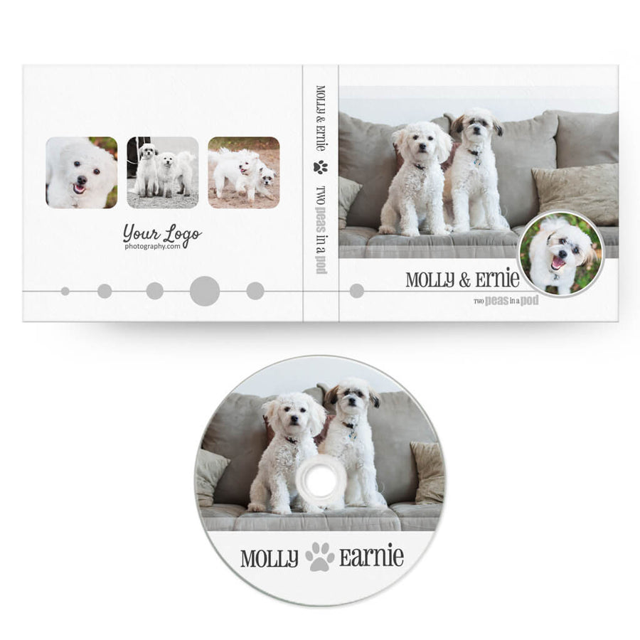 Pet-tastic | CD Case + Optional CD Label - 3 Dollar Photoshop Templates for Photographers