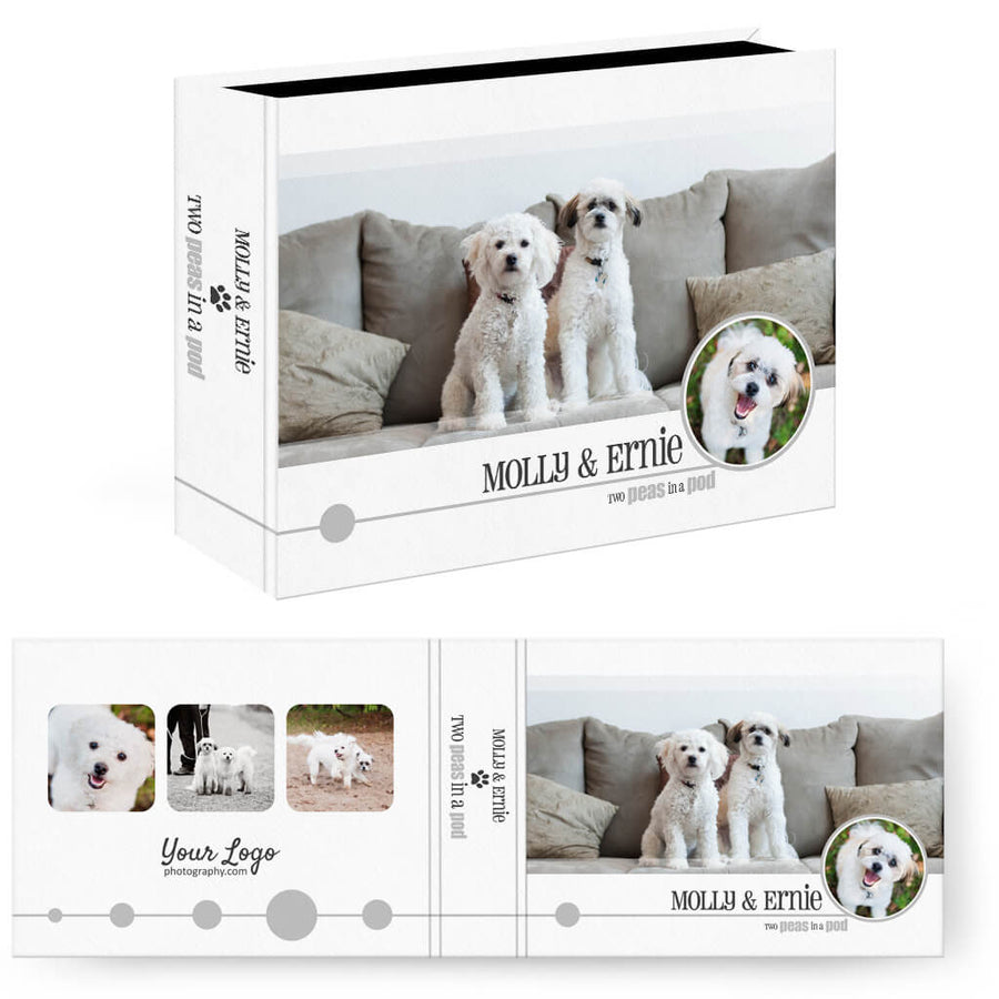 Pet-tastic | Horizontal Image Box - 3 Dollar Photoshop Templates for Photographers