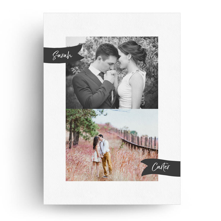 Picture Perfect | Save-the-Date Card - 3 Dollar Photoshop Templates for Photographers