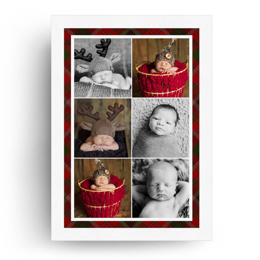 Plaid | Christmas Card