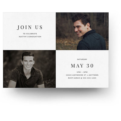 Polished | Senior Graduation Card - 3 Dollar Photoshop Templates for Photographers