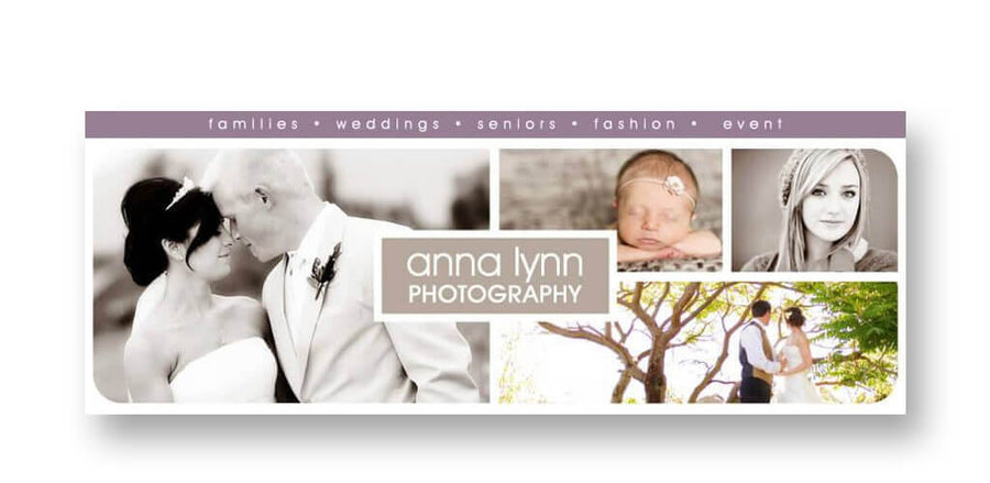 Pure | Facebook Cover - 3 Dollar Photoshop Templates for Photographers